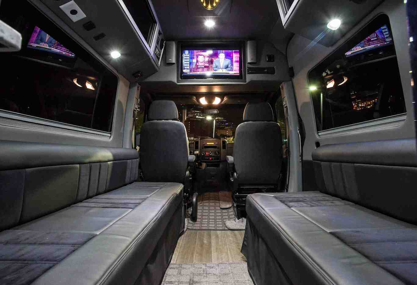 Nashville Sprinter Rental Sprinter Tour Bus A Better Bus